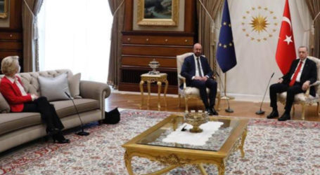 Turkey, EU blame each other in 'sofagate' row