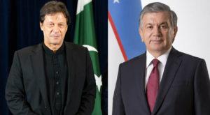 PM Imran Khan is visiting on the invitation of Uzbek President Shavkat Mirziyoyev.
