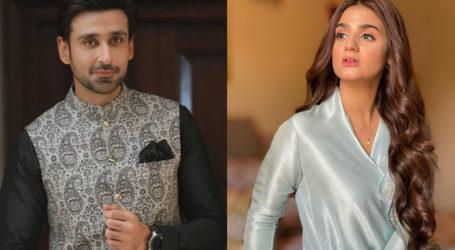 Hira Mani and Sami Khan are gearing up for director Badar Mehmood's drama