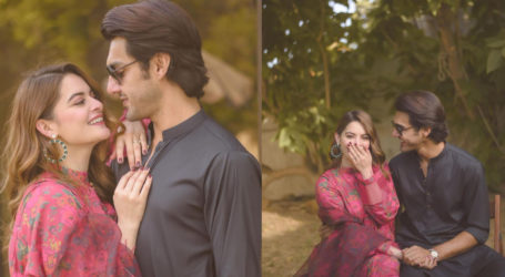 Minal and Ahsan criticised for their PDA-packed 'baat pakki' photos