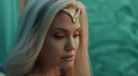 Angelina Jolie becomes blonde superhero in Marvel's 'The Eternals'