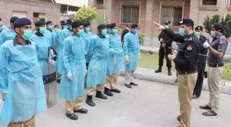 Over 40 policemen die of coronavirus, 1500 infected in KP
