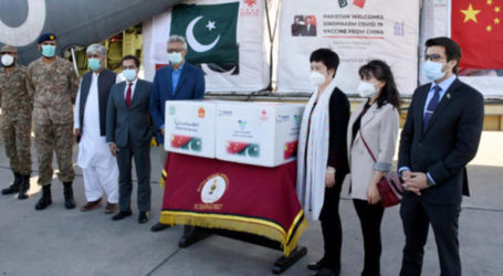PIA airlifts 500,000 doses of Sinovac vaccine from China