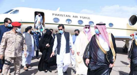 PM Imran arrives in Madina to pay respects at Roza-e-Rasool