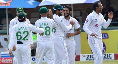 Pakistan beat Zimbabwe by an innings and 116 runs in first Test