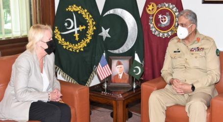 US diplomat, Army chief discuss Afghan peace process