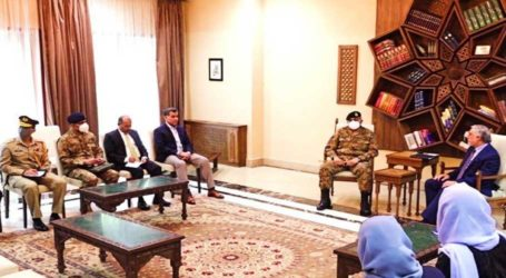 COAS Bajwa discusses Afghan peace process with President Ghani: ISPR