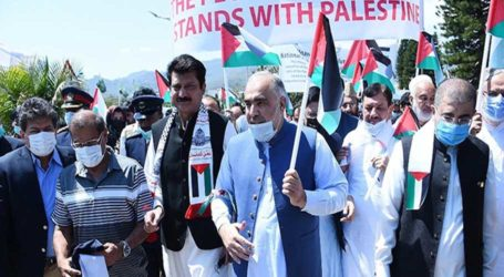 Pakistan marks day of solidarity with Palestinians