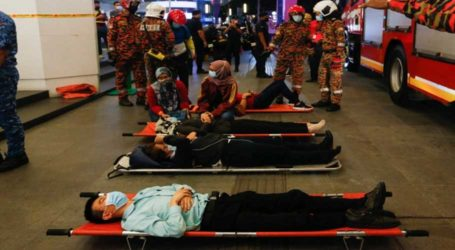 Over 200 injured after two trains collide in Malaysian capital