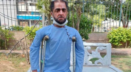 Physically challenged man appeals to PM Imran for employment