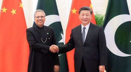 70th anniversary: President Alvi, China's Xi vow to deepen bilateral ties