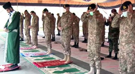 COAS Bajwa offers Eid prayers with troops at LoC
