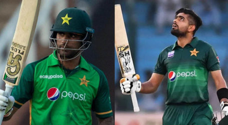 Babar Azam, Fakhar Zaman nominated for ICC Player of the Month