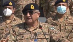 Chief of Army Staff General Qamar Javed Bajwa. Source: FILE/Online