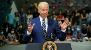 President Joe Biden is calling for $6 trillion spending next year to rebuild the US economy. Source: AFP