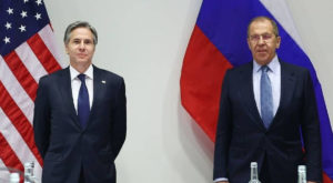 Blinken and Lavrov hold first high-level talks between US and Russia in Biden's administration. Source: TASS
