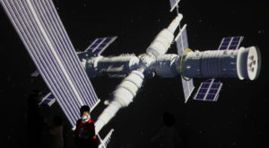Tianzhou-2 is the second of 11 missions needed to complete China's first self-developed space station around 2022. Source: Reuters