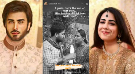 Marriage rumours: Imran Abbas stood me up, sobs Ushna Shah in a viral video