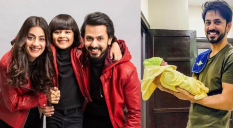 Actors Bilal Qureshi and Uroosa blessed with baby boy