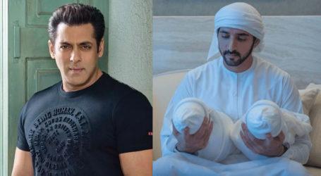 Salman Khan congratulates Dubai's Sheikh Hamdan on birth of twins