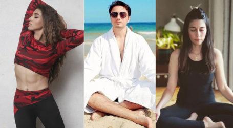 International Day of Yoga: 8 Pakistani actors who practice yoga