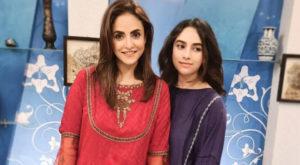 Alizeh is the eldest daughter of actress Nadia Khan. Source: Instagram