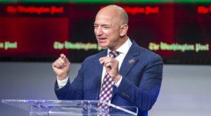 Amazon's billionaire founder Jeff Bezos