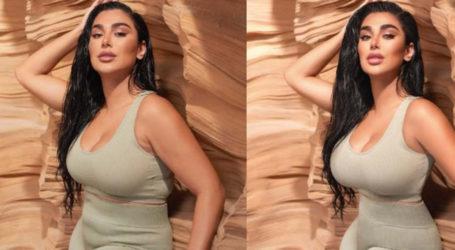 Beauty blogger Huda Kattan is exposing unrealistic beauty standards set by Photoshop