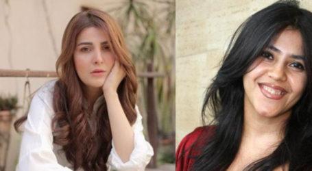 Ekta Kapoor thanks Pakistani actress for admiring her web series