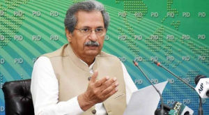 Shafqat Mahmood wished students good luck for their examinations.