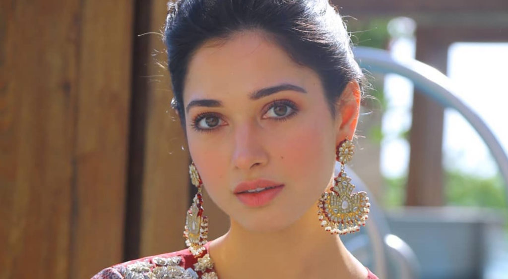 Bollywood actress Tamannaah Bhatia has revealed the weirdest beauty secret about her skin that she has applied saliva to her face.