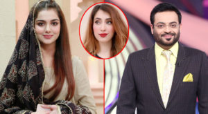 Following Haniya Khan's case who claims to be Aamir Liaquat Hussain's third wife, rumors of a divorce have been circulating on social media between TV anchor Aamir Liaquat Hussain and his wife Tuba Aamir.