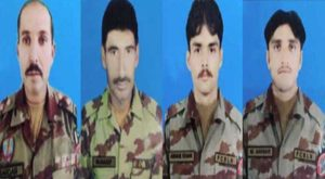Four FC troops martyred in Balochistan IED blast