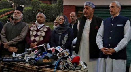 IOK leaders urge Modi to restore region's autonomy