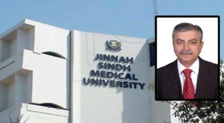 CM Sindh appoints Dr Siraj Memon as VC of JSMU
