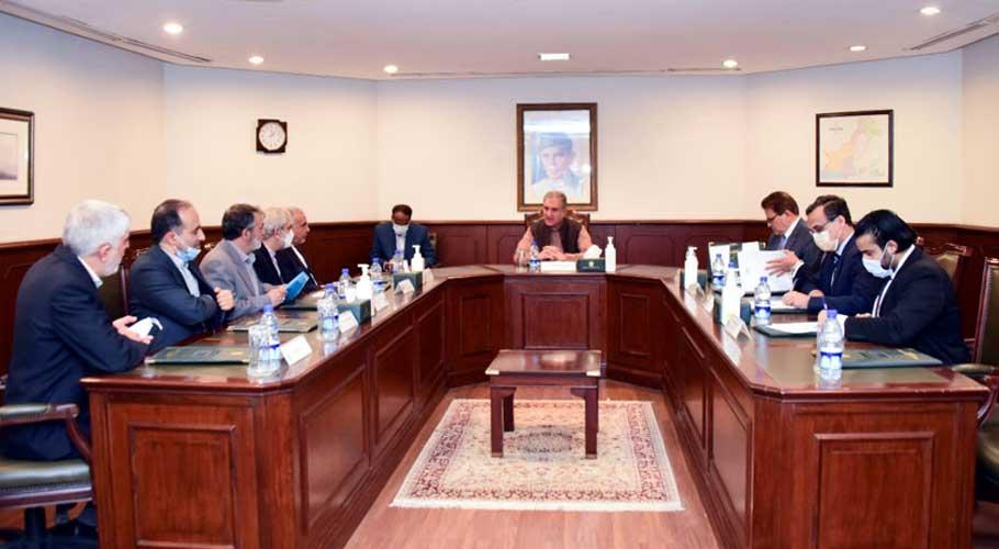 Iran's envoy calls on FM Qureshi