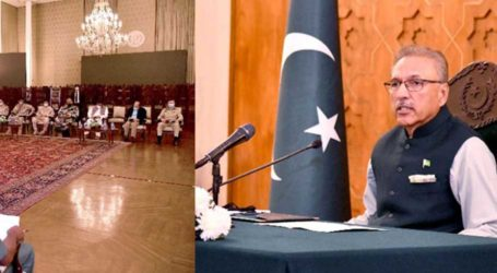 President Alvi urges world to take note of Uranium's illegal selling in India