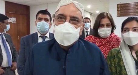Asif Zardari terms situation in Afghanistan 'dangerous'