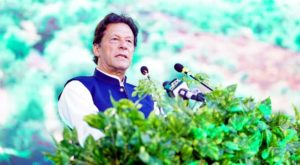 Prime Minister Imran Khan urged the nations to meet responsibilities in tackling climate change impacts.