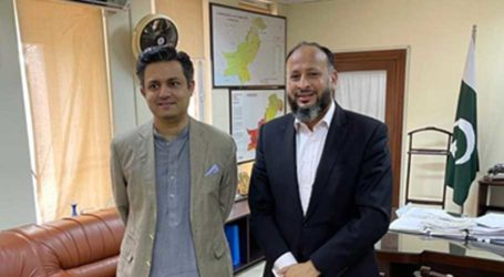 K-Electric CEO meets Energy Minister Hammad Azhar