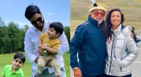 Celebrities honour their dads with special Father's Day posts