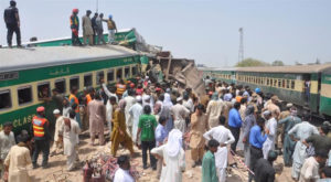 Who is blame for the growing incidents of trains?