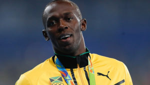 Usain Bolt will not be will not be competing at the Tokyo Olympics after retiring in 2017. Source: Wikipedia