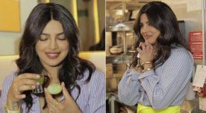 Priyanka Chopra shares glimpses from her visit to her restaurant Sona. Source: Instagram
