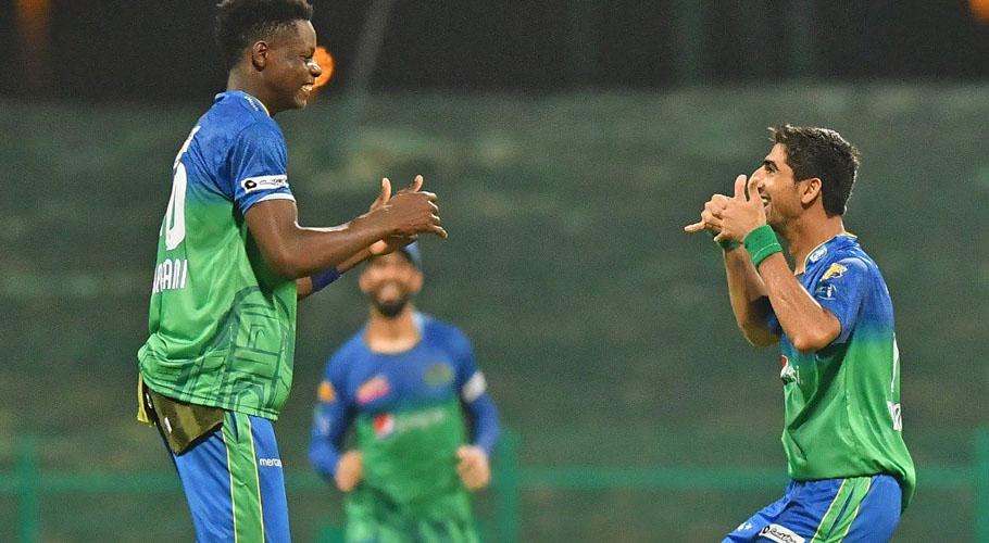 Shahnawaz Dahani grabbed four wickets for Multan Sultans. Source: FILE/Online