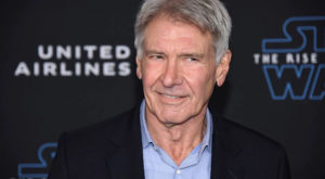 """Harrison Ford attends the premiere of """"Star Wars: The Rise of Skywalker"""". Source: Reuters."""
