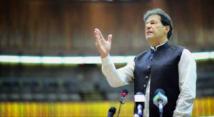 Prime Minister Imran Khan delivered a wide-ranging address to the National Assembly