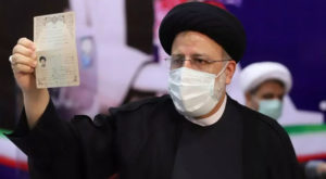 Judiciary chief Ebrahim Raisi is considered to be the frontrunner in the presidential elections; Source: France24/WANA