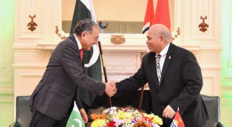 Pakistan establishes diplomatic relations with Pacific island Kiribati