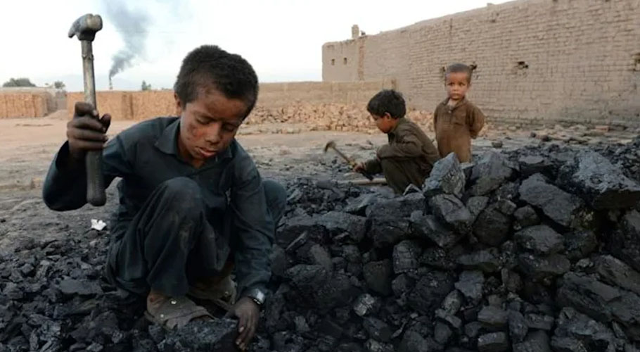 UNICEF says the number in child labour stood at 160 million at the start of 2020. Source: AFP